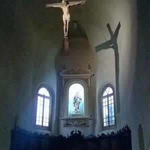 Presbiterio della Chiesa di S. Stefano in Reggio Emilia