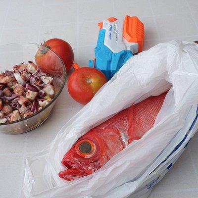 Jeden Tag gibt es frischen Fisch aus dem Meer vor Teneriffa.