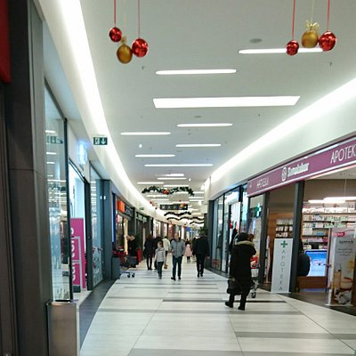 Shopping in Mercator Centar