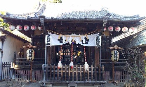 新井天神北野神社 社殿