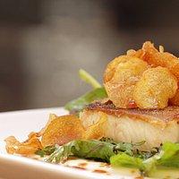Seared Ling-cod