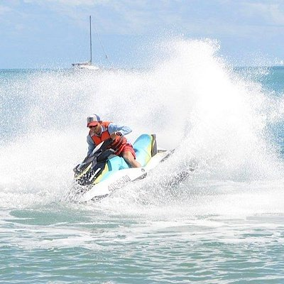 Ripping it up in Horseshoe Bay