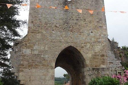 Bastide, Hastingues (Landes, Nouvelle Aquitaine), France.