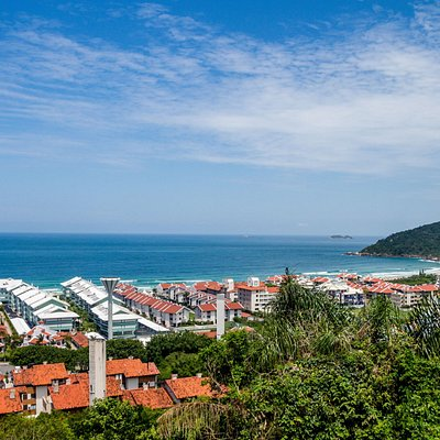 Vista do Mirante de Praia Brava
