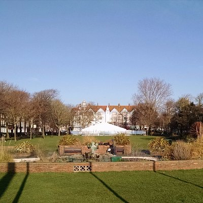 Steyne Gardens from the south