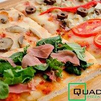 variedad pizzas Quadrata