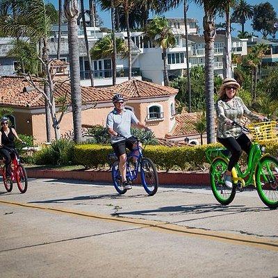 Owners ride in Corona del Mar.