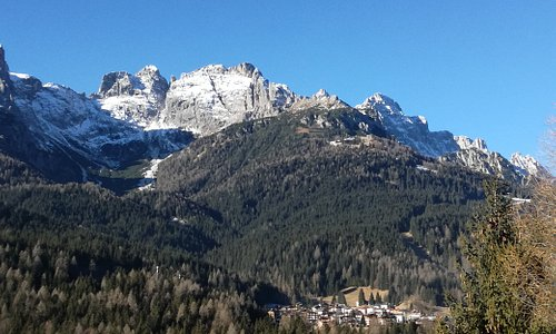 Panorama dall'albergo    Bellavista