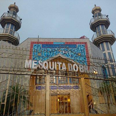 Vista externa da Mesquita do Brás
