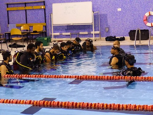 Qdivers proudly teaches students of College of North Atlantic Qatar on annual basis.