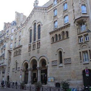 L'église au 15 rue Ampère