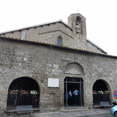 ll portico della facciata