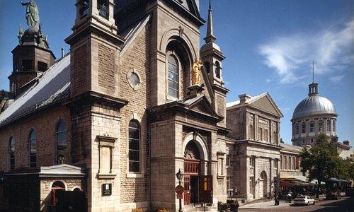 Première chapelle de pierre de Montréal