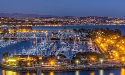 Dana Point Harbor is an active port with more than 2,500 boats & hundreds of water activities