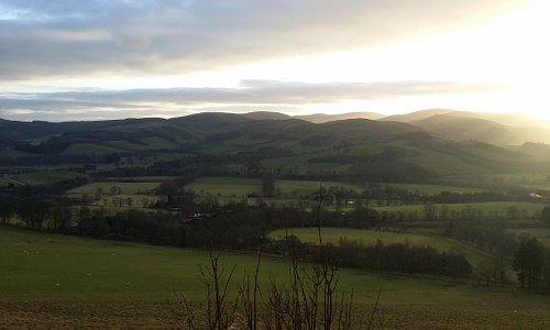 Photos around the site and sunset views near the buzzards nest car park at the top