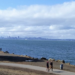 View of San Francisco from Point Isabel