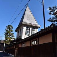 倉の館三角邸外観