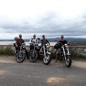 Bike tour with 4 canadian guys.from nhatrang to dalat