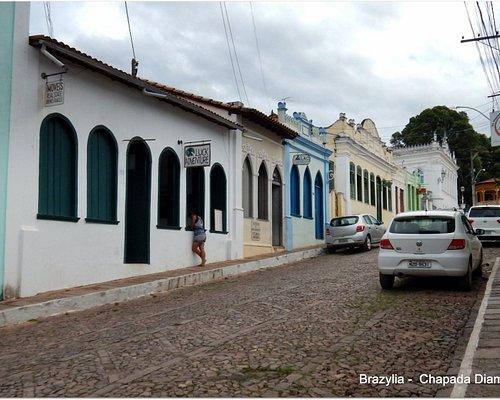 Casarao no alto do bairro Sao Felix