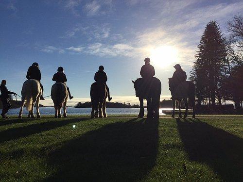 Lough Corrib from horseback