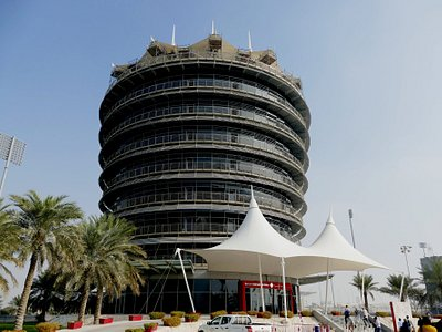 Bahrain International Circuit Paddock tower