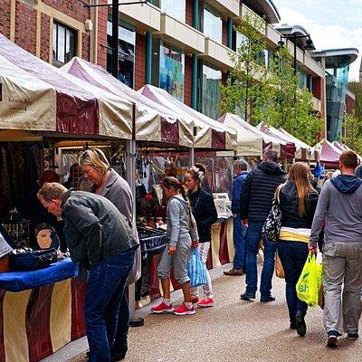 High Street Up Market Every Saturday & Sunday