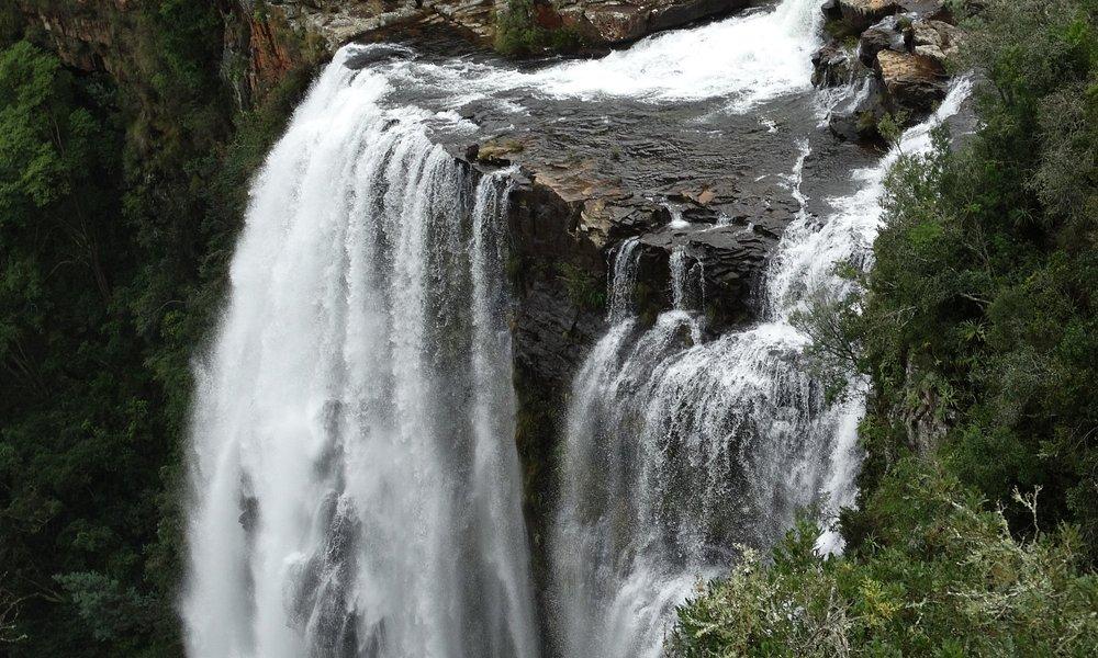 die doppelten Wasserfälle