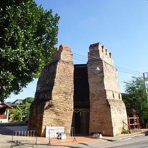 Los restos de muralla, reacondicionados