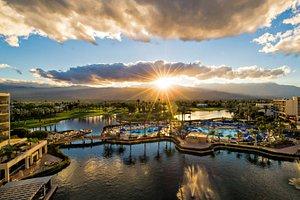 Sunrise at JW Marriott Desert Springs Resort & Spa