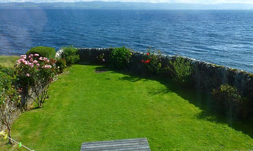 Backyard of Montford Cottage, Isle of Bute