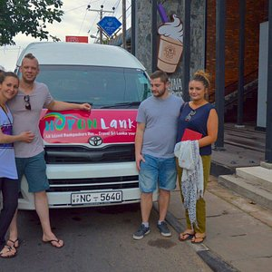 Voyage de rêve en Decembre 2016 avec Hop On Lanka backpacker bus