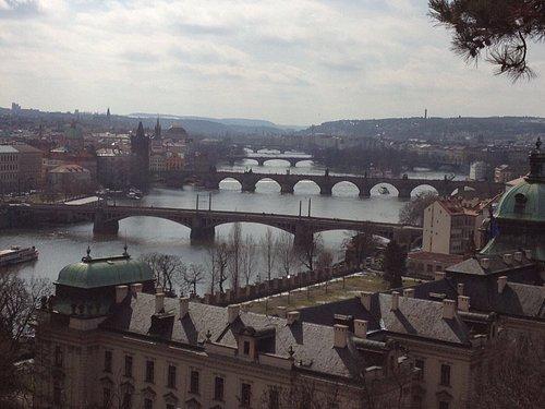 Prekrásne výhľady na Prahu