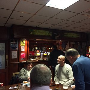 This is o Conners sports and social bar on Saturday afternoon a great place to be to watch all y