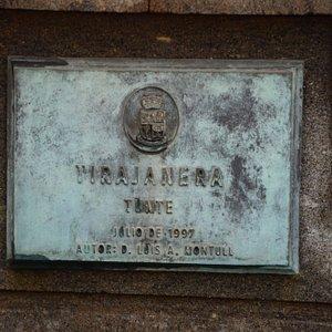 Rzeźba Tirajanera w San Bartolome