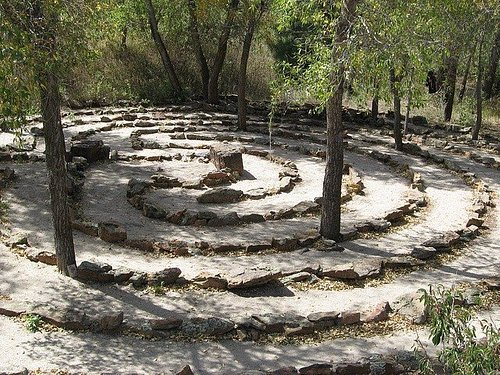 Labyrinth at the Sanctuary Center