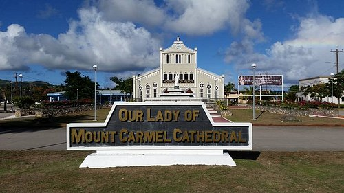 Our Lady of Mt Carmel Cathedral.