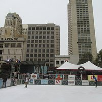 Holiday Ice Rink, Union Square, December 2016, San Francisco, Ca