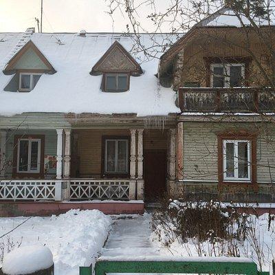 Дом, где жил академик Сахаров