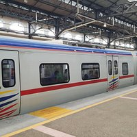 the new KTM Komuter train
