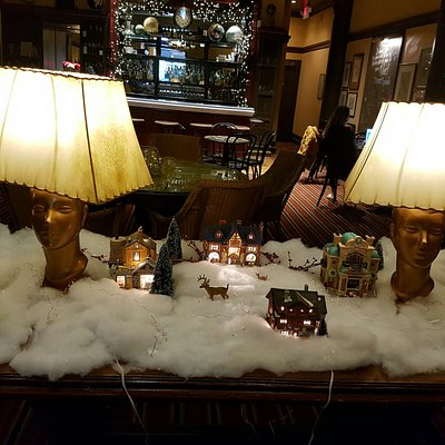 Christmas decos @ The Rex Hotel