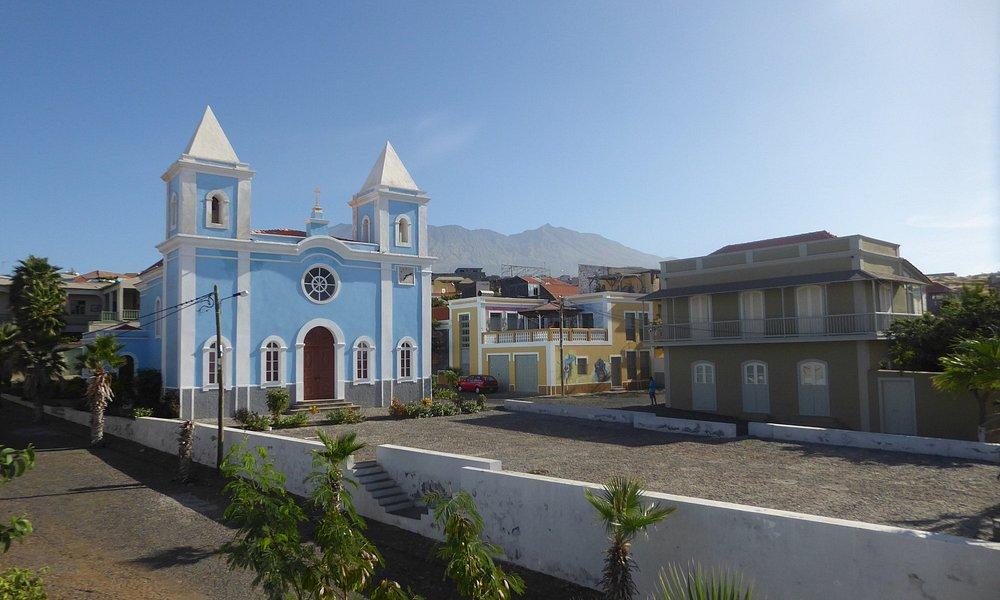 the church seen from 'Casa Beiramar'