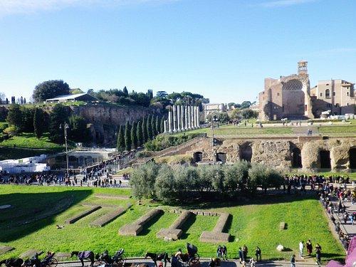 Panorama dal Colosseo.