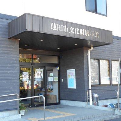 展示館の玄関