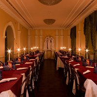 La romantica sala Ristorante.