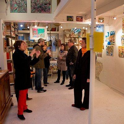 Vernissage exposition Jérome Pezzillo octobre 2015