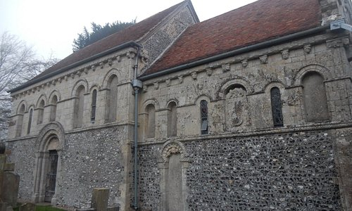 South side of the church.