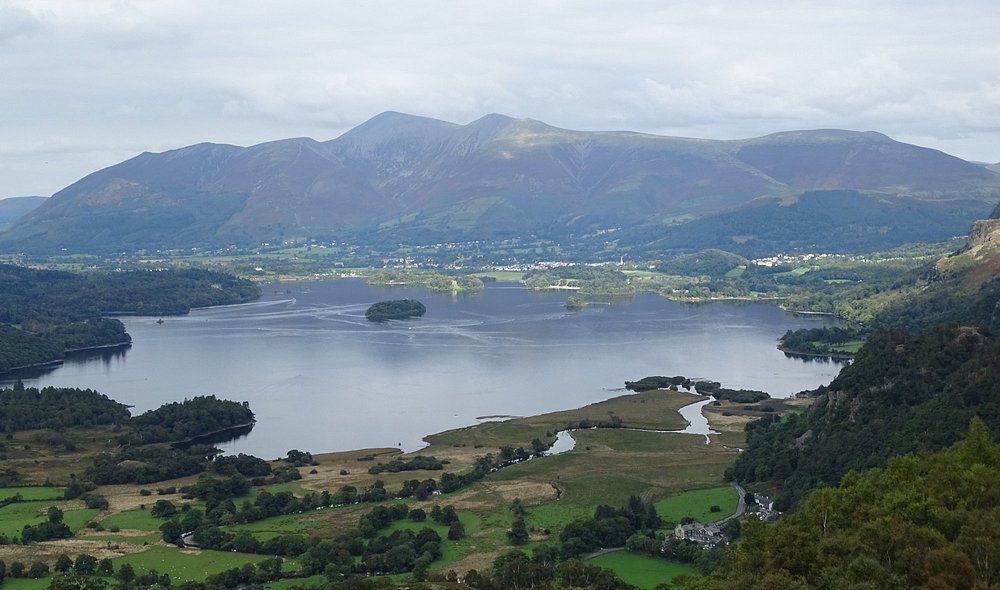 Derwent water from King's How