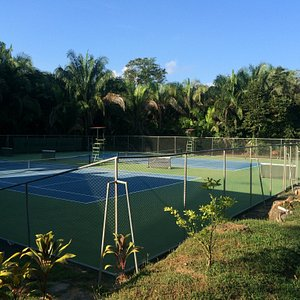 Great courts! Great tennis partner!