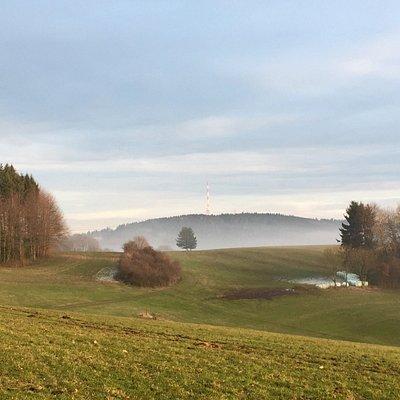 Blick von Abtsteinach Richtung Fürth/Odw.