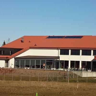 Centre de loisirs à Saignelégier (vue spa/wellness extérieur)